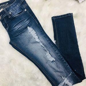 Like New Blue Asphalt Jeans sz.3